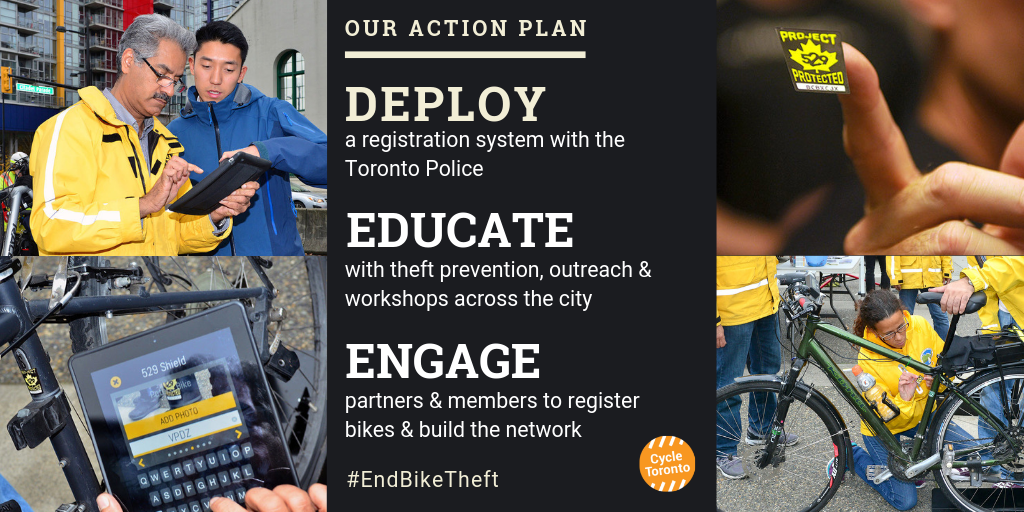 our action plan to end bike theft: deploy, educate, engage