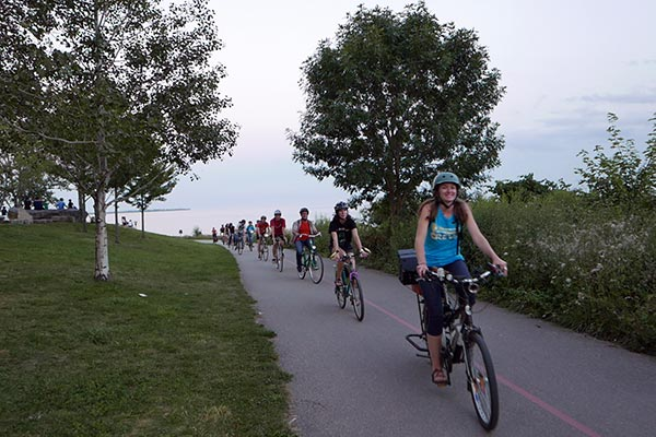 Cycle Toronto ride along the waterfront