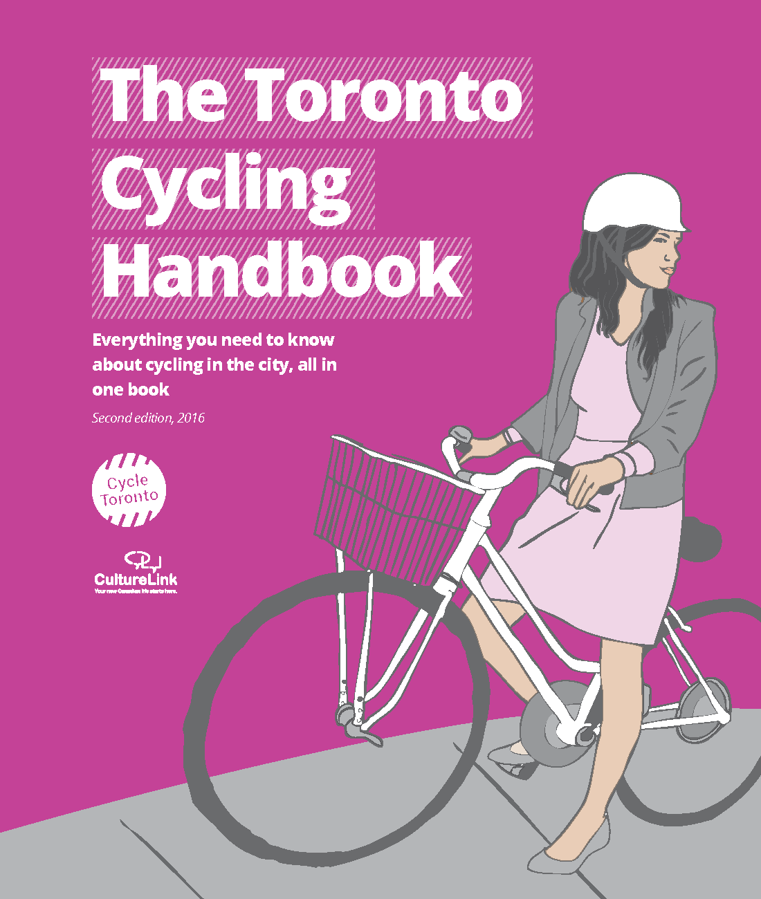 The Toronto Cycling Handbook cover