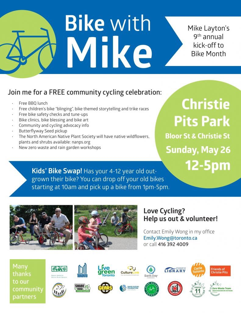 bike with mike 2019 poster