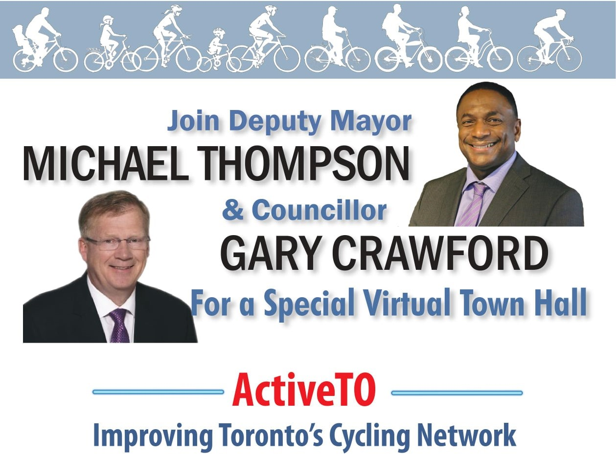 Reads: Join Deputy Mayor Michael Thompson and Councillor Gary Crawford