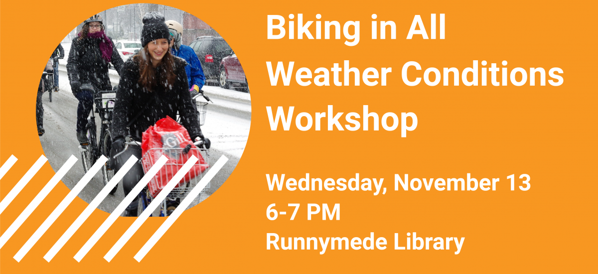 Biking in All Weather Conditions November 13