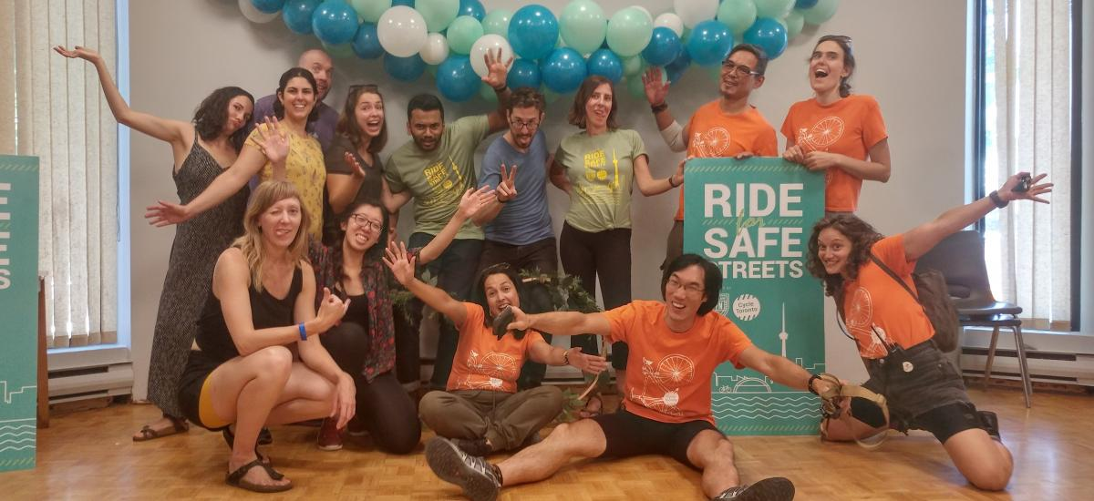 Ride for Safe Streets 2019 Team Photo