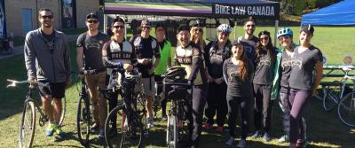 Bike Law team at 2017 Ride for safe streets