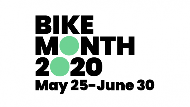 Bike Month 2020 is May 25 to June 30