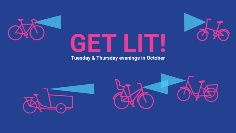Get Lit! Tuesday & Thursday evenings in October