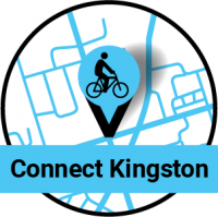 Pin dropped on map. Connect Kingston