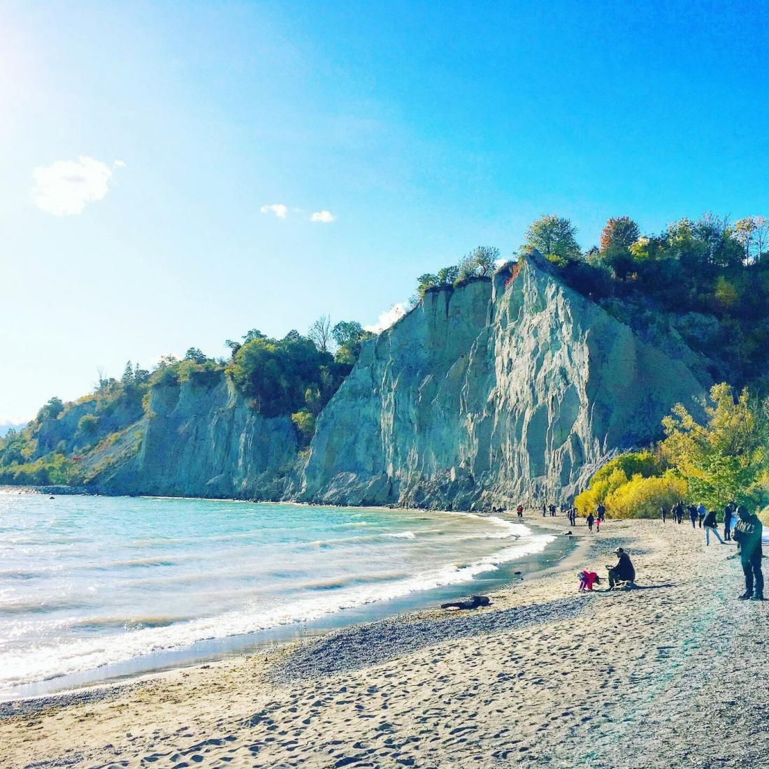 Becky Katz trip to the Scarborough Bluffs