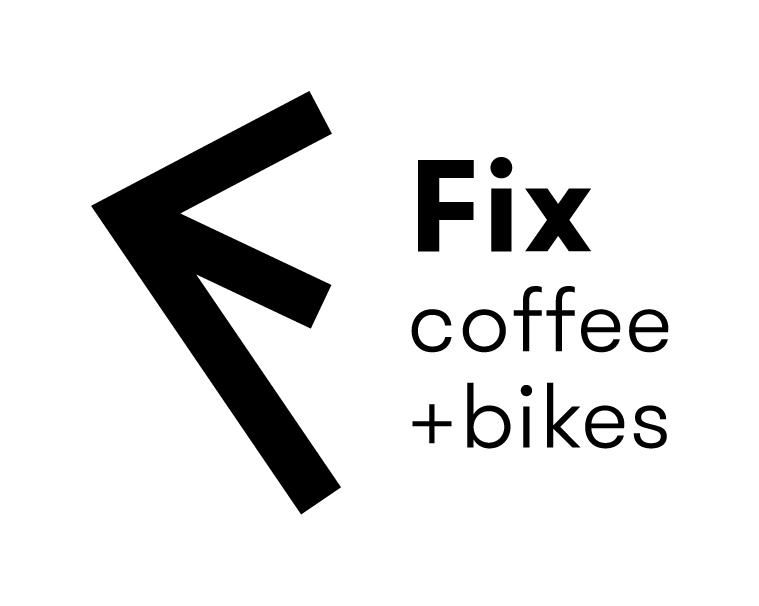 Fix Coffee plus bikes logo