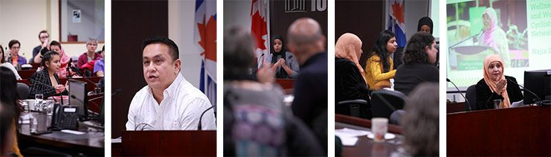 Meaningful Community Engagement panel speaks at the Cycle Toronto Advocacy Forum