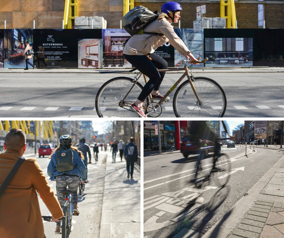 cycle tracks on richmond and adelaide streets are here to stay